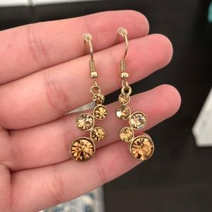 Jewelry - FREE W PURCHASE Gold Sparkly Earrings